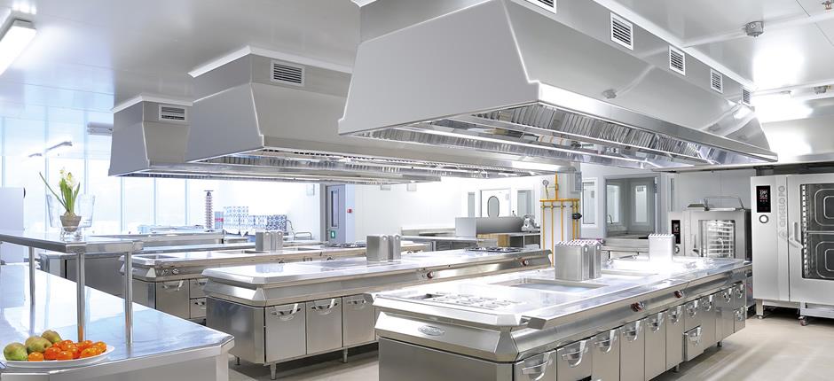 La pulizia delle cucina professionali - Utensili per cucina professionale ...